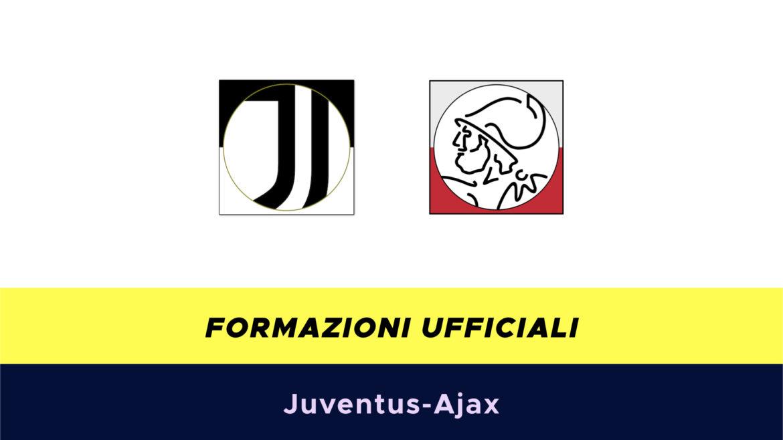 Juventus-Ajax formazioni ufficiali