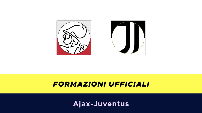 Ajax-Juventus formazioni ufficiali