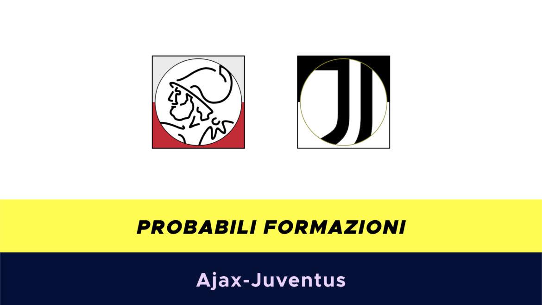 Ajax-Juventus probabili formazioni