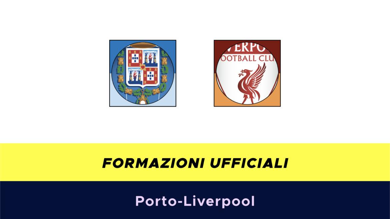 Porto-Liverpool formazioni ufficiali