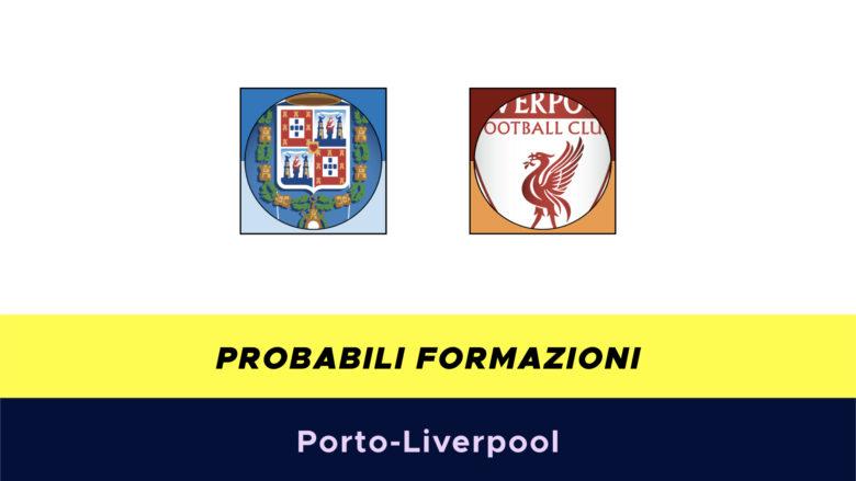 Porto-Liverpool probabili formazioni