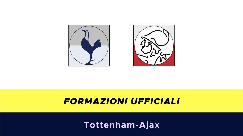 Tottenham-Ajax formazioni ufficiali
