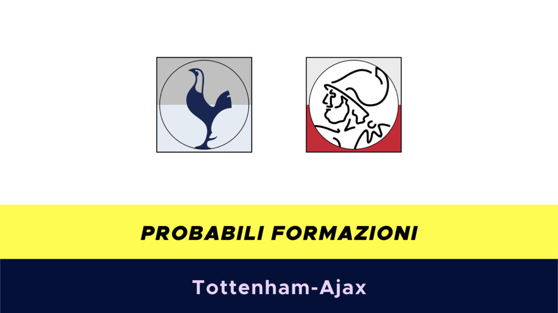 Tottenham-Ajax probabili formazioni