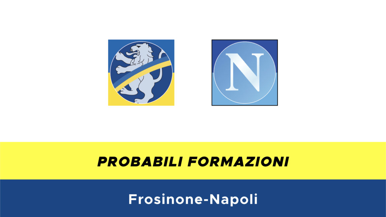 Frosinone-Napoli probabili formazioni