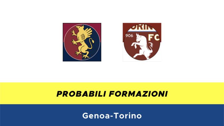 Genoa-Torino probabili formazioni