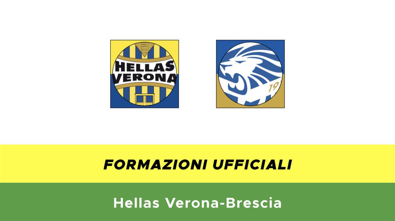 Verona-Brescia formazioni ufficiali