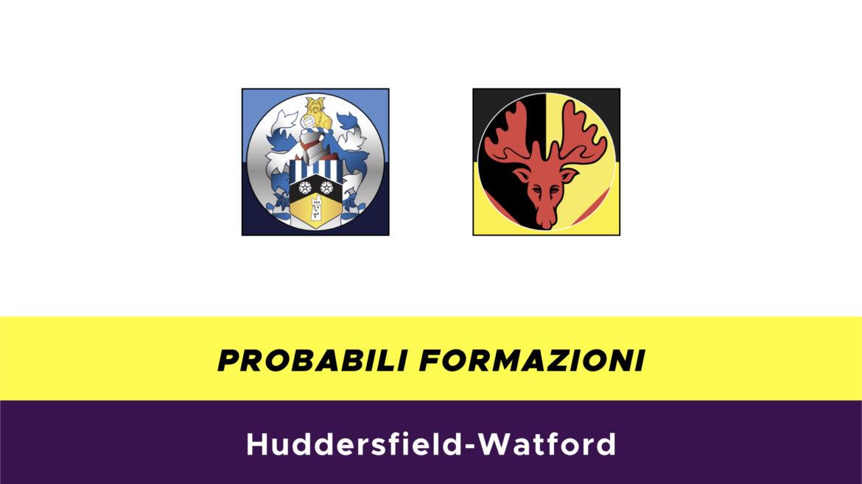 Huddersfield-Watford probabili formazioni