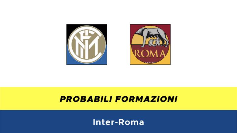 Inter-Roma probabili formazioni