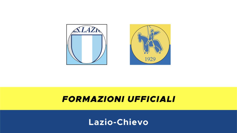 Lazio-Chievo formazioni ufficiali