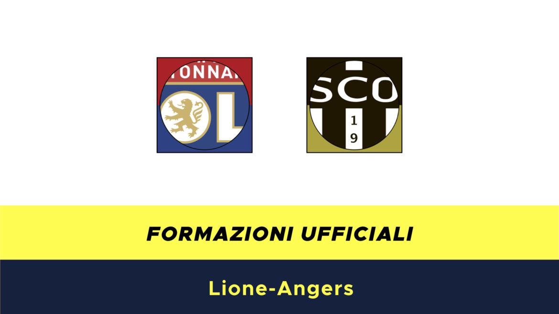 Lione-Angers formazioni ufficiali