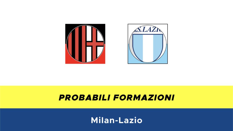 Milan-Lazio probabili formazioni
