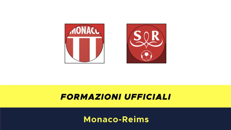 Monaco-Reims formazioni ufficiali