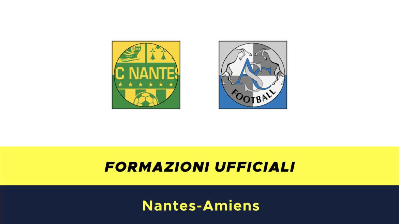 Nantes-Amiens formazioni ufficiali