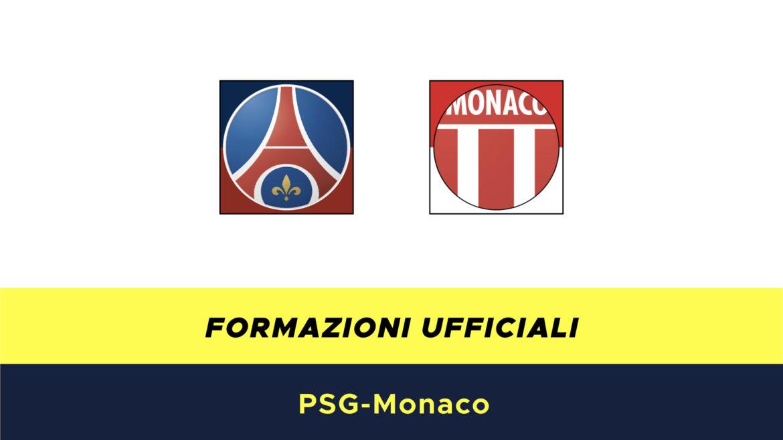 PSG-Monaco formazioni ufficiali