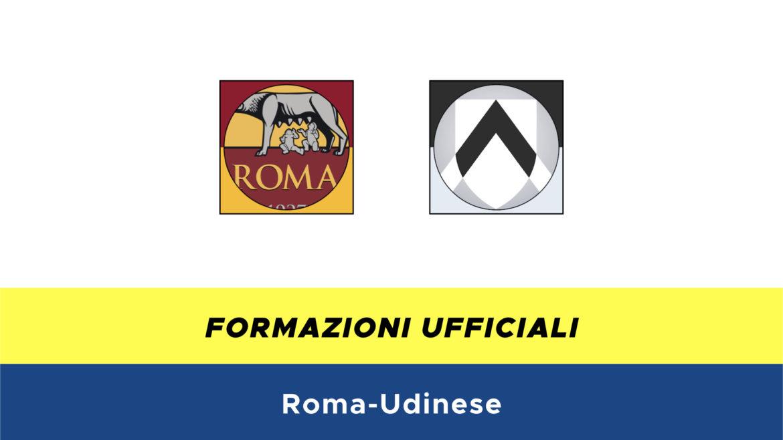 Roma-Udinese formazioni ufficiali