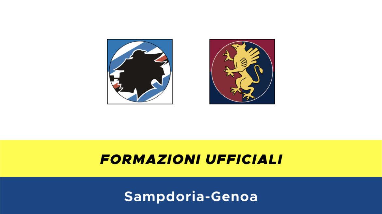 Sampdoria-Genoa formazioni ufficiali