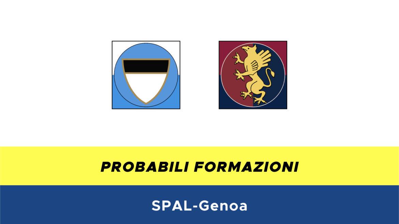 SPAL-Genoa probabili formazioni