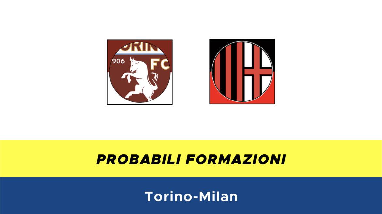 Torino-Milan probabili formazioni