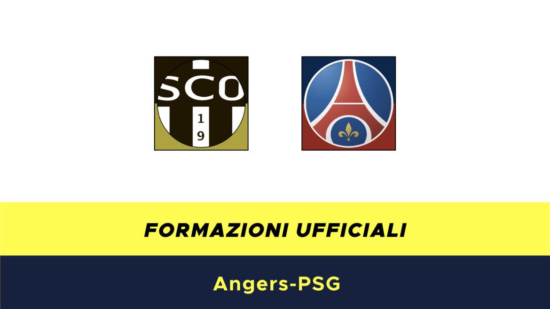 Angers-PSG formazioni ufficiali
