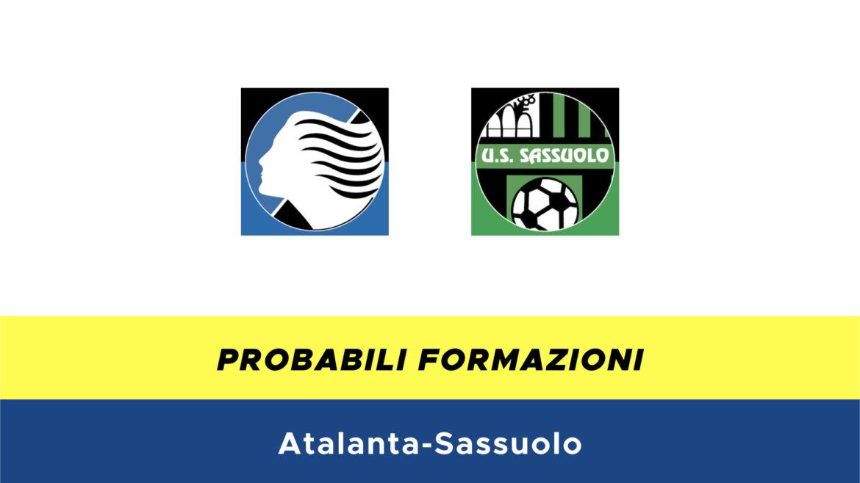 Atalanta-Sassuolo probabili formazioni