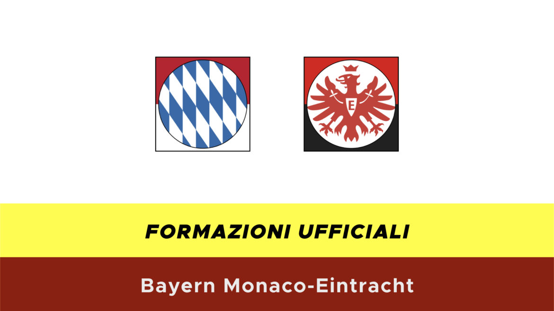 Bayern Monaco-Eintracht formazioni ufficiali