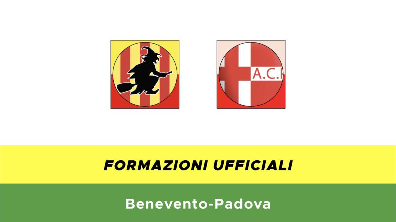 Benevento-Padova formazioni ufficiali