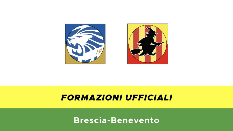 Brescia-Benevento formazioni ufficiali