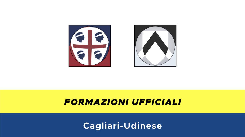 Cagliari-Udinese formazioni ufficiali