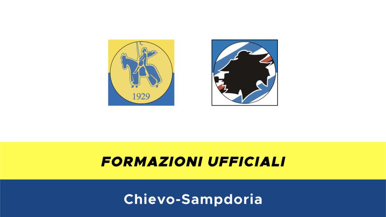 Chievo-Sampdoria formazioni ufficiali