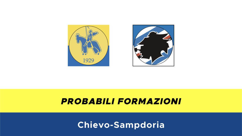 Chievo-Sampdoria probabili formazioni