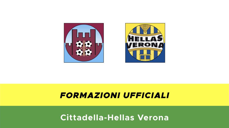 Cittadella-Verona formazioni ufficiali