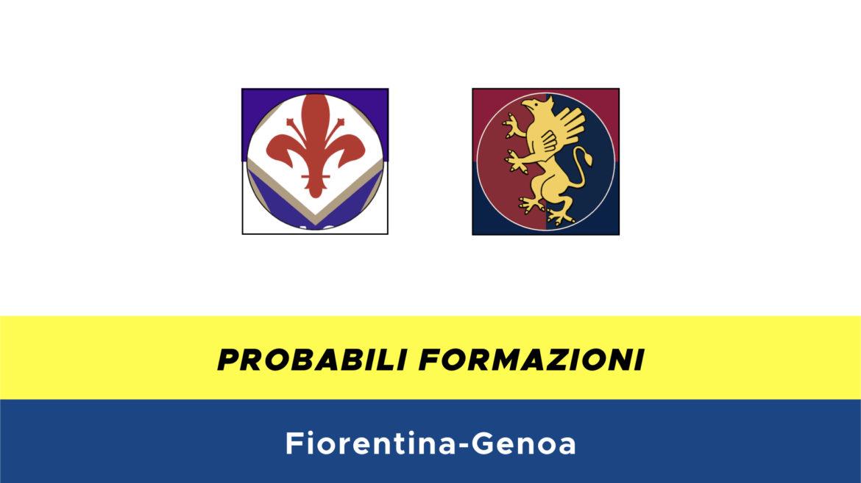 Fiorentina-Genoa probabili formazioni