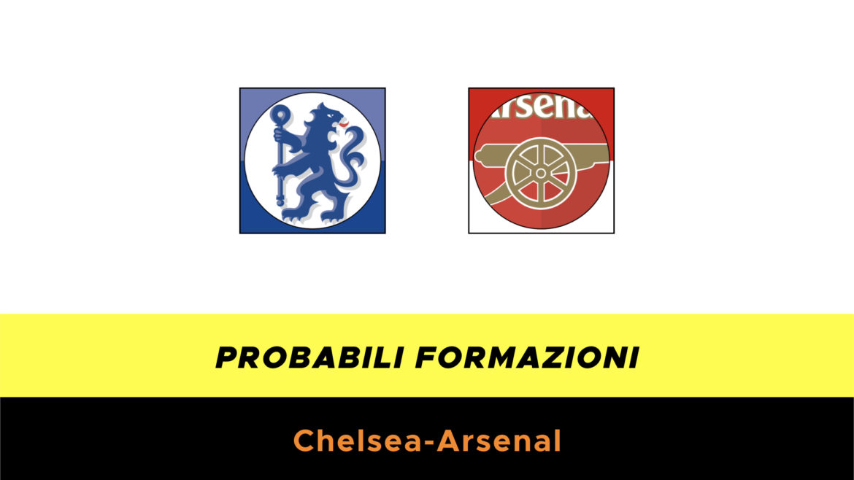 Chelsea-Arsenal probabili formazioni