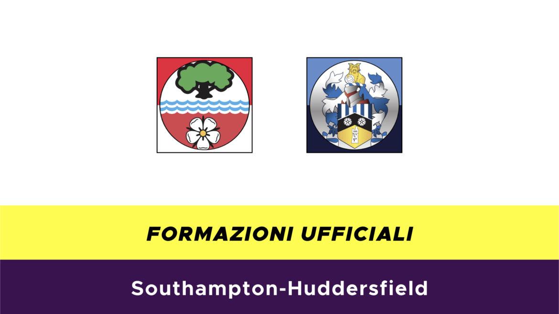 Southampton-Huddersfield formazioni ufficiali