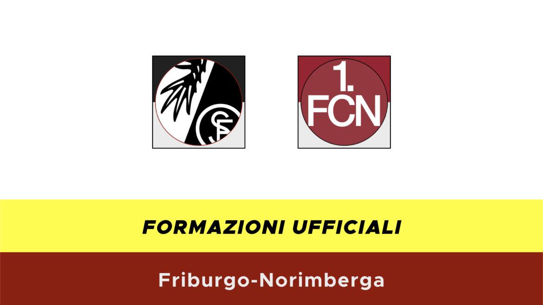 Friburgo-Norimberga formazioni ufficiali