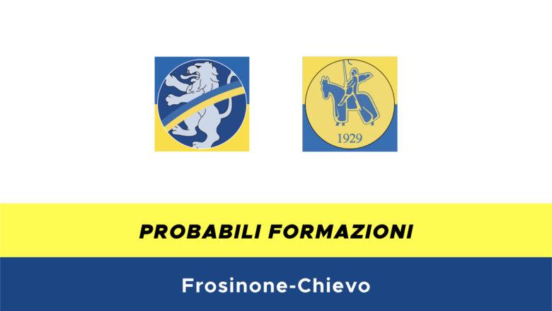 Frosinone-Chievo probabili formazioni