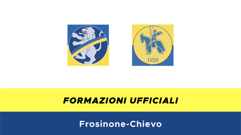 Frosinone-Chievo formazioni ufficiali