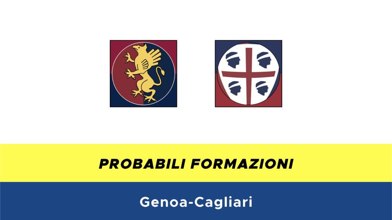 Genoa-Cagliari probabili formazioni