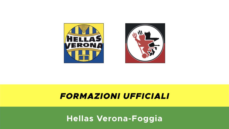 Verona-Foggia formazioni ufficiali