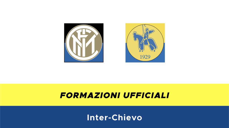Inter-Chievo formazioni ufficiali