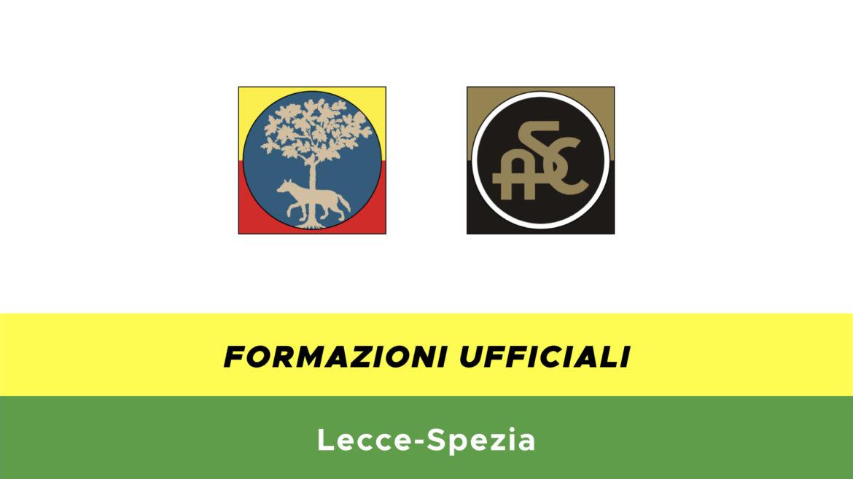 Lecce-Spezia formazioni ufficiali
