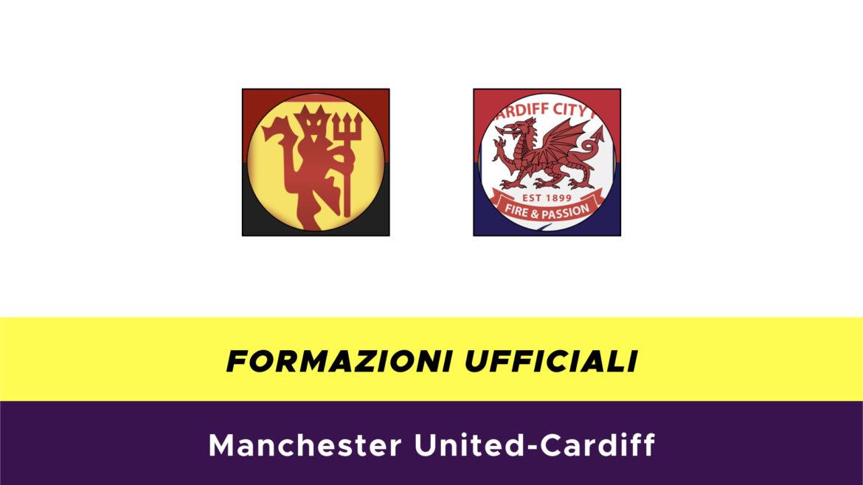 Manchester United-Cardiff formazioni ufficiali