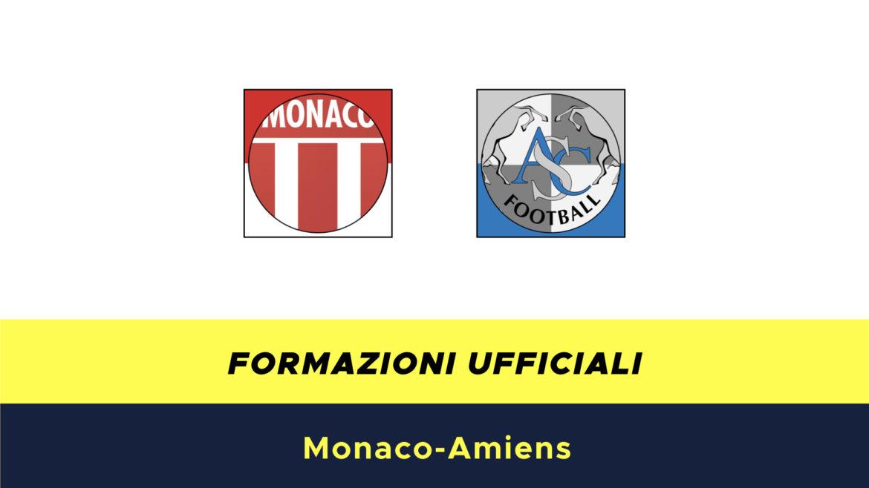 Monaco-Amiens formazioni ufficiali
