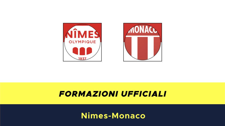 Nimes-Monaco formazioni ufficiali