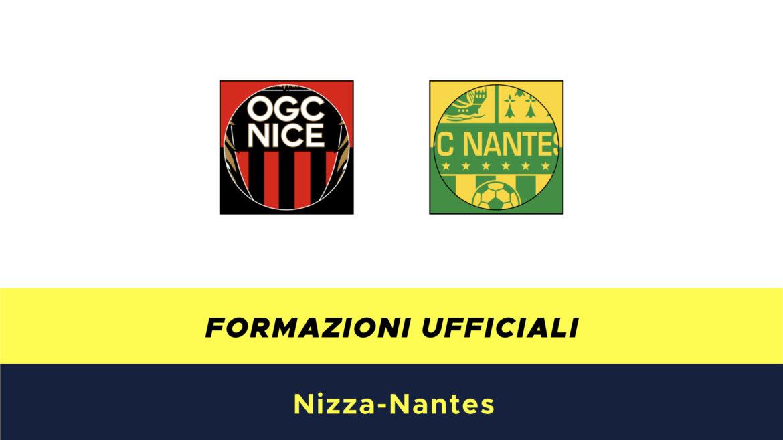 Nizza-Nantes formazioni ufficiali
