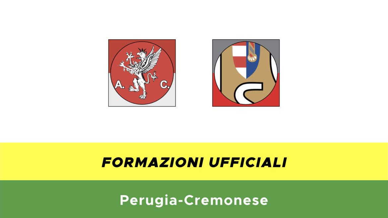 Perugia-Cremonese formazioni ufficiali