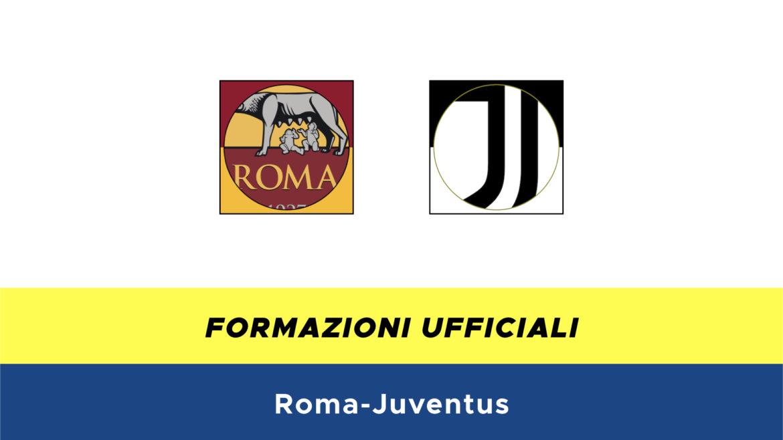 Roma-Juventus formazioni ufficiali