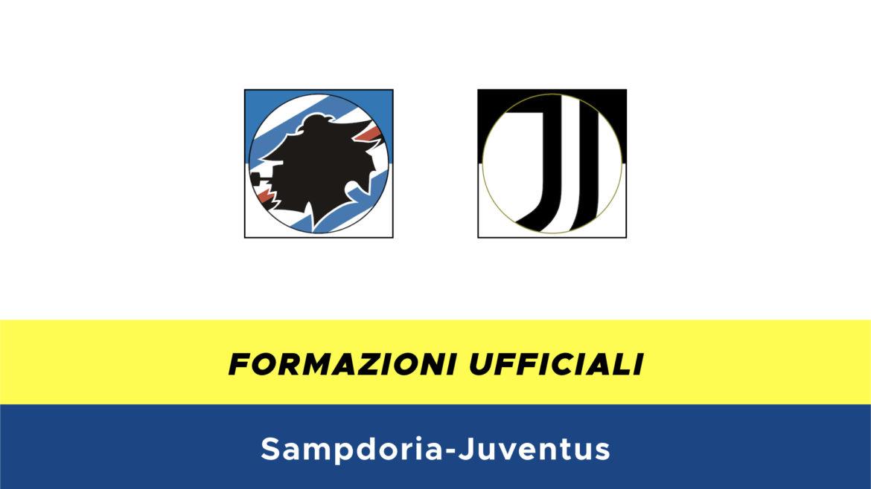 Sampdoria-Juventus formazioni ufficiali