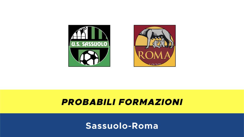 Sassuolo-Roma probabili formazioni