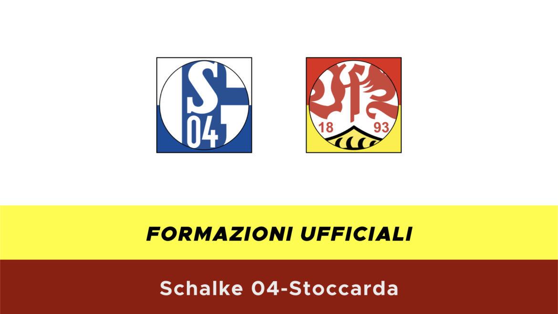 Schalke 04-Stoccarda formazioni ufficiali